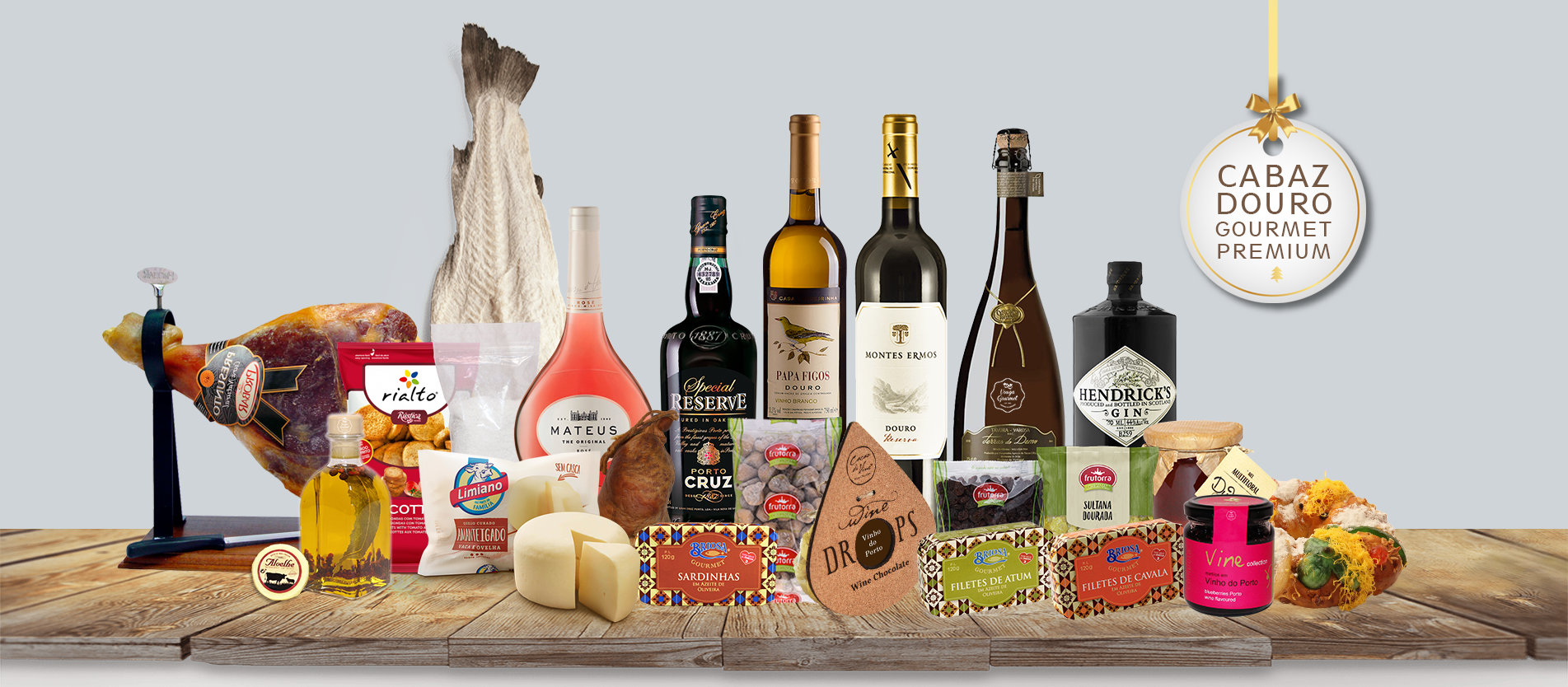 Cabazes de Natal Regionais Gourmet